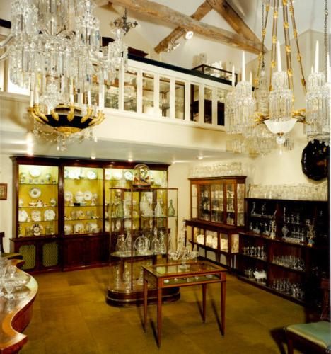 A view of the shop in North Wraxall
