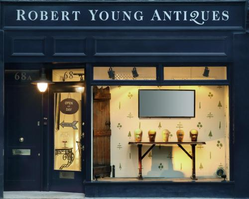 Robert Young Antiques Shop Front