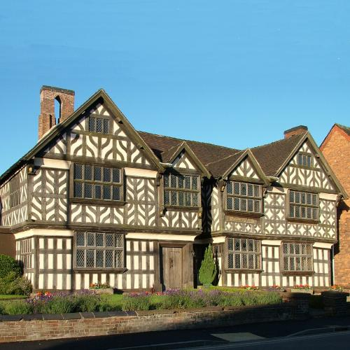 Adams Antiques, Churches Mansion, Nantwich