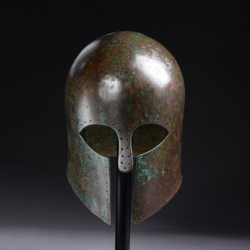 Corinthian helmet, circa 650 BC