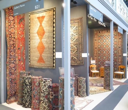 Gallery Yacou antique rug selection