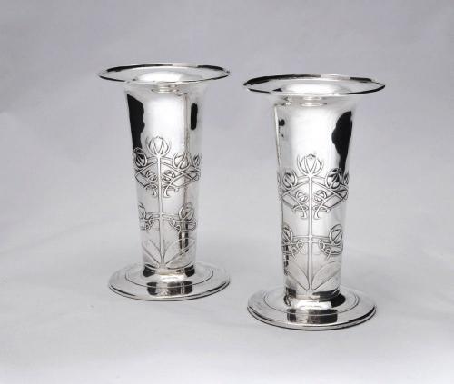 Archibald Knox vases