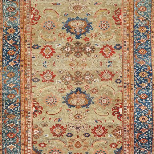 Antique Ziegler carpet, circa 1890