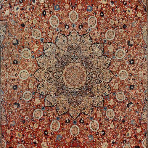 Antique Tabriz carpet, Persia