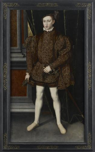 Portrait of King Edward VI, c.1551, Workshop of Guillim Scrots (fl.1537-53)