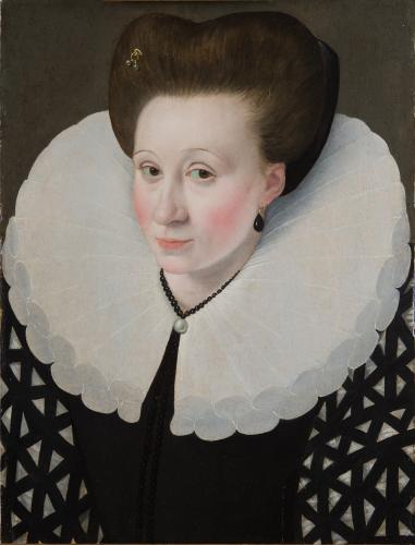 Attributed to Francois Quesnel   Portrait c.1584-88
