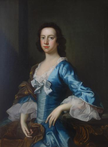 Young Lady by Thomas Hudson (1701-1779)