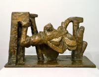 Carl Plackman (1943-2004) figure in human form 1967