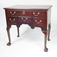Mahogany Lowboy with ball & claw feet