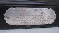 Cannalee Simonnet plaque