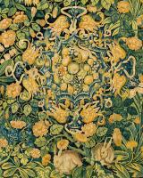 Fond de Fleurs, Wool and silk, Flemish, mid 16th century