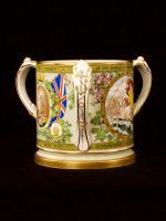 A fine Copeland Nelson Centenary 1905 china Tug