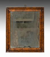 6620 Charles II Olive Wood Cushion Mirror