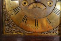 An Extremely Small 18th Century Longcase Clock With 30 Hour Striking Movement