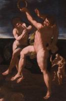 Bacchus and Ariadne on the Island of Naxos, by Giovanni Francesco Romanelli, 1642