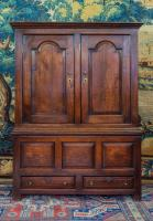 A Small Early 18th Century Oak Cupboard
