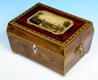 Tunbridge Ware Work Box