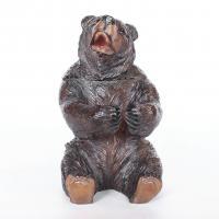 black forest carved bear
