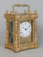 Drocourt Empire Style Carriage Clock 2