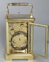 L'Epée Moonphase Carriage Clock with Tourbillon Escapement backplate
