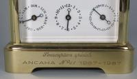 L'Epée Moonphase Carriage Clock with Tourbillon Escapement engraving