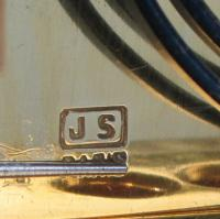 Soldano engraved gorge carriage clock mark