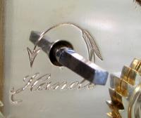 Delépine-Barrois striking carriage clock arrow