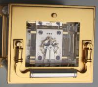 Delépine-Barrois striking carriage clock escapement