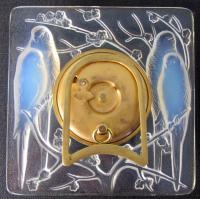 Lalique Quatre Perruches rear