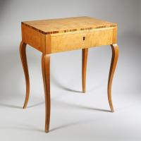 A pair of mid century bedside tables