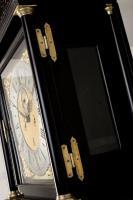 William Tomlinson Ebonised Longcase Clock hinges