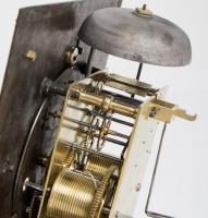 William Tomlinson Ebonised Longcase Clock movement 2