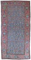 Antique Kurdish kelleh carpet