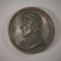 GEORGE III VICTORIES OF THE PENINSULAR WAR Bronze Box Medal.