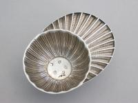 George III Silver 'Jockey Cap' Caddy Spoon
