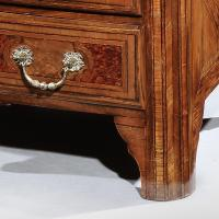 A Fine Early 18th Century Walnut Commode