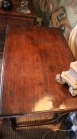 A late-17th century oak sidetable